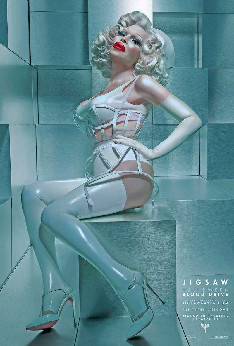 """Terror y protesta: Los pósters de """"Jigsaw"""" que apoyan a la comunidad LGBT"""