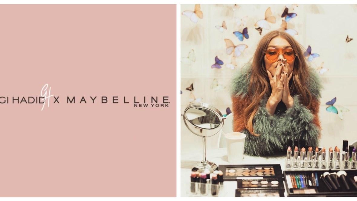 La colección de maquillaje de Gigi Hadid para Maybelline