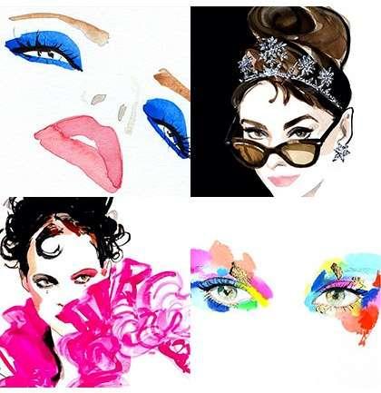 Los mejores ilustradores de moda y belleza en Instagram