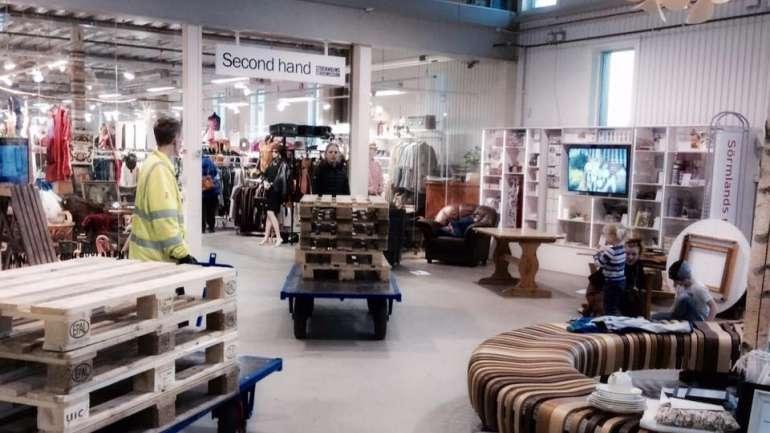 ReTuna Återbruksgalleria, el primer mall con productos reciclados