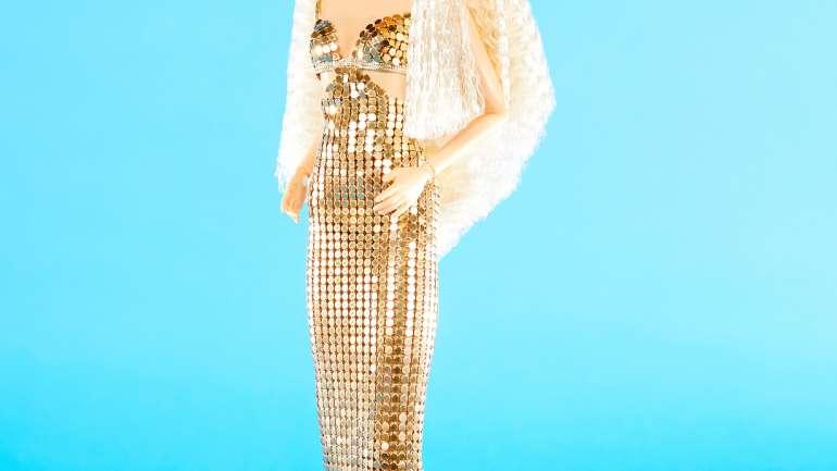 La supermodelo Claudia Schiffer se convierte en una Barbie