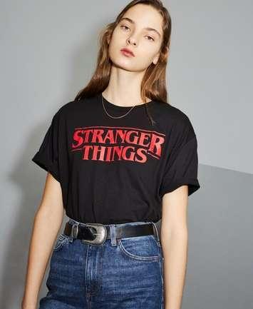 Topshop x StrangerThings, la colección cápsula que triunfa entre los fanáticos