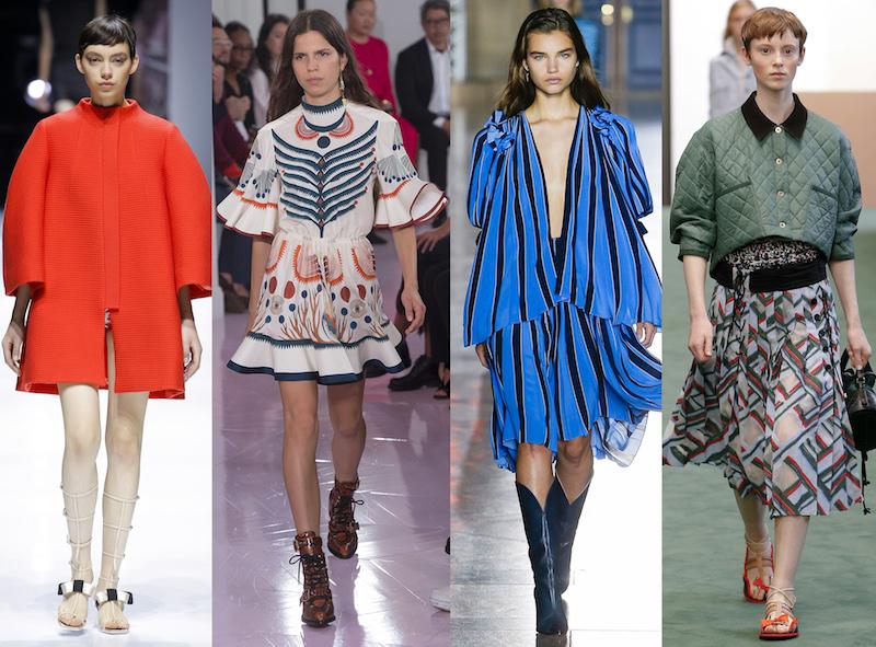 Lanvin, Chloé, Givenchy y Carven: Cómo fueron las colecciones debut de sus nuevos diseñadores