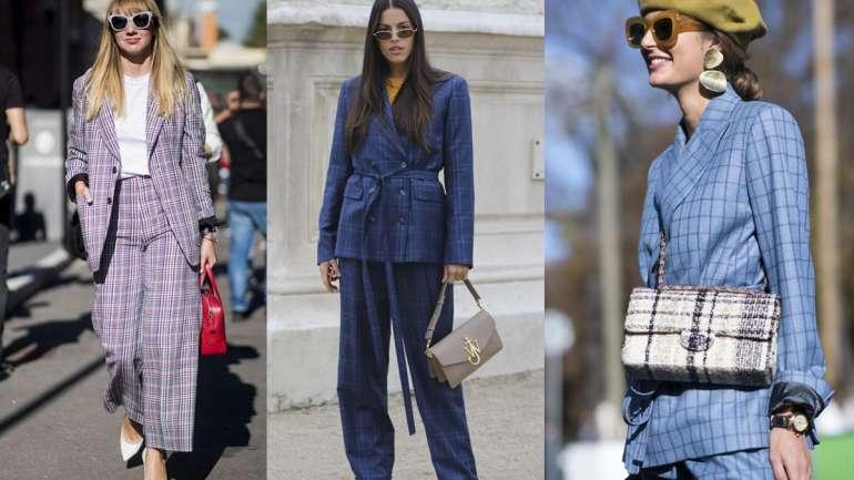 Tendencia: Cómo vestir el traje de pantalón y chaqueta