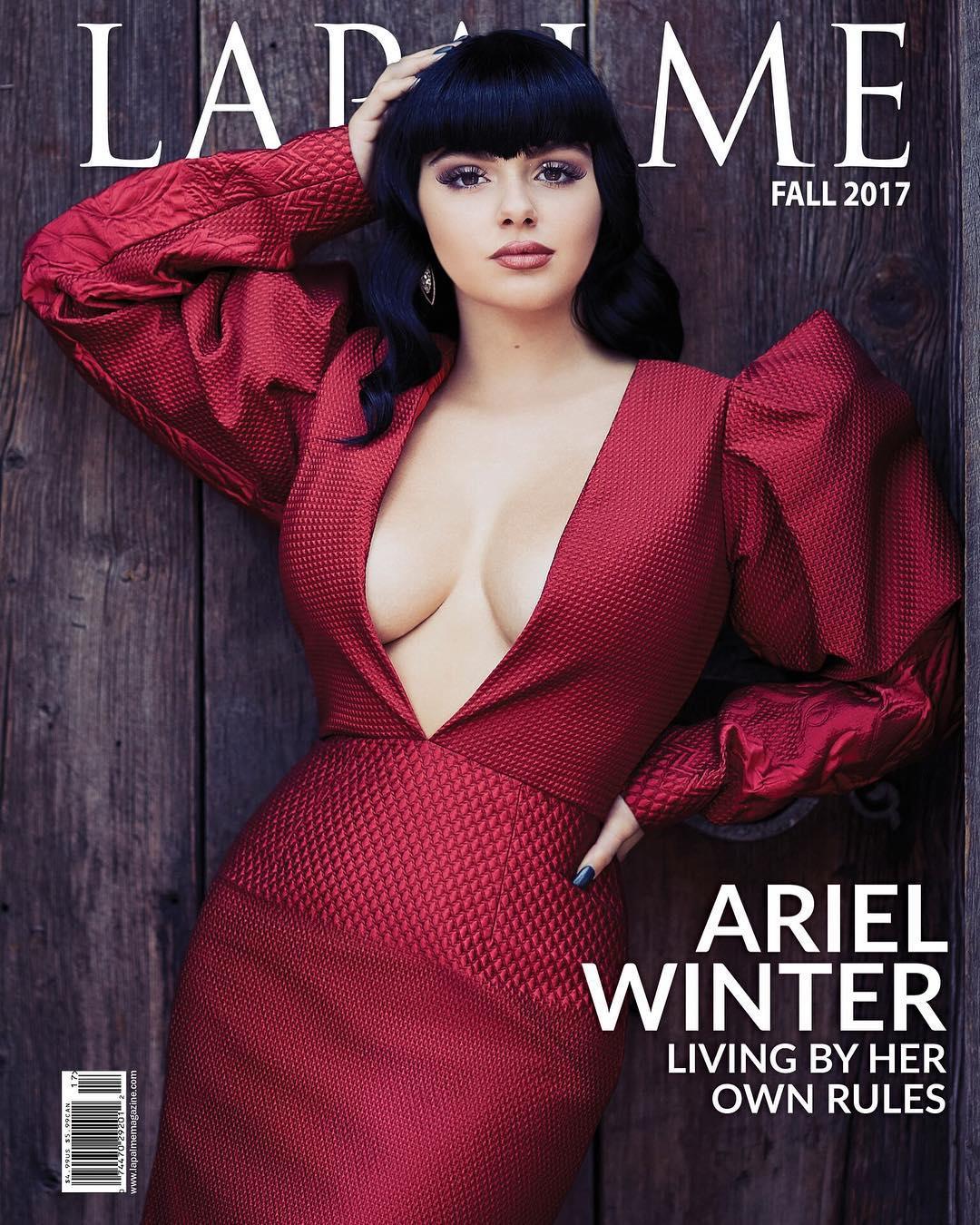 La transformación de estilo de la joven actriz Ariel Winter