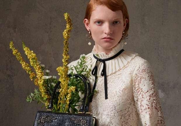 Al fin la vemos: El lookbook de la colección de Erdem para H&M