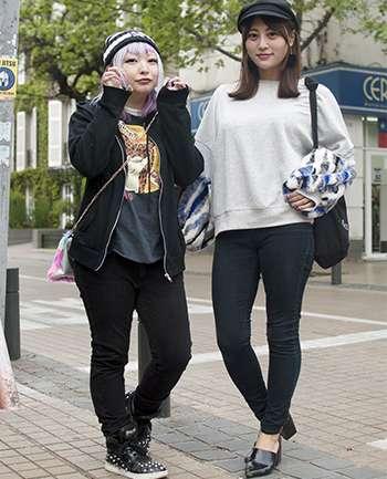 Naomi y Shina