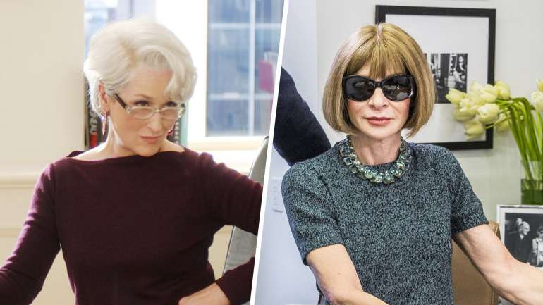 "La entrevista de Anna Wintour a Meryl Streep, un momento muy ""The Devil wears Prada"""
