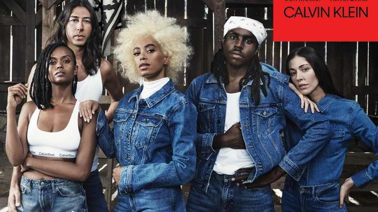 Solange + Calvin Klein = La nueva campaña de #MyCalvins