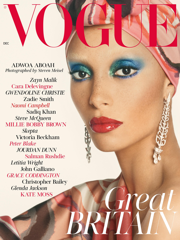 Dorable Plantilla De Revista Vogue Ornamento - Ejemplo De Colección ...