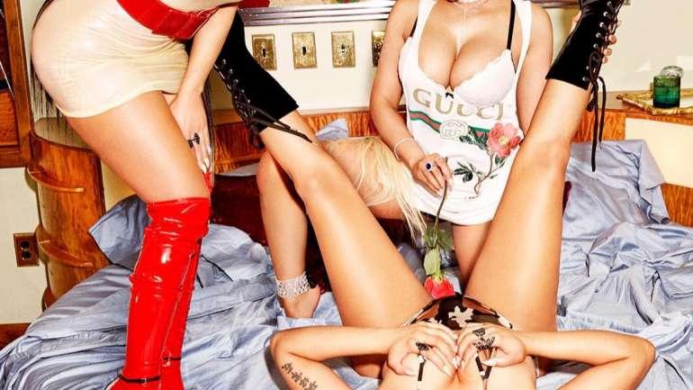Nicki Minaj en Paper Magazine
