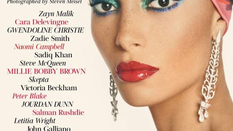 Adwoa Aboah, Gurls Talk y la primera portada de British Vogue bajo Enninful