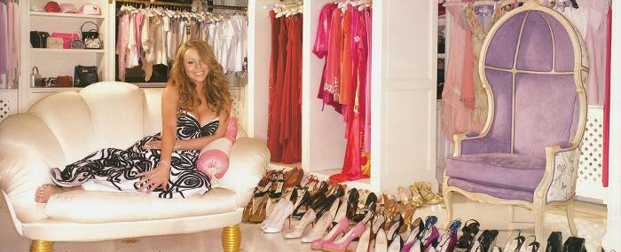 Conoce el clóset de la diva Mariah Carey