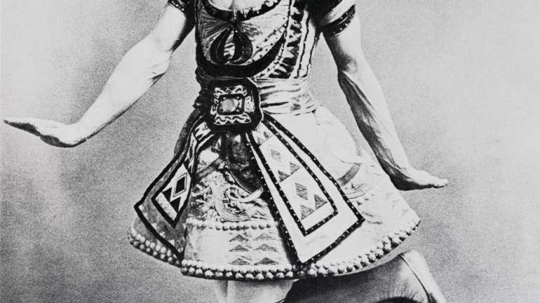 El trabajo del vestuarista de teatro Léon Bakst