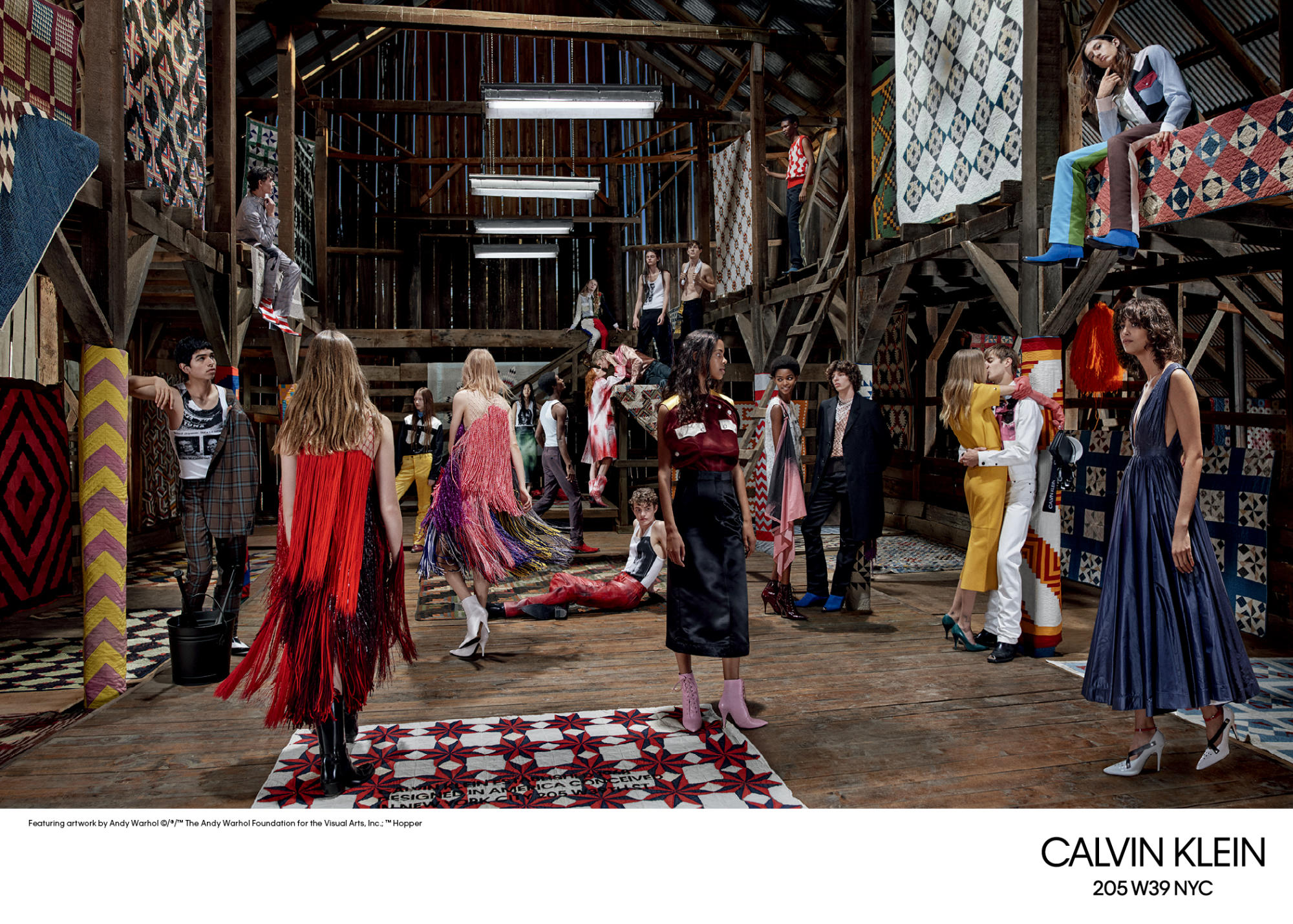 La campaña Spring/Summer de Calvin Klein 2018