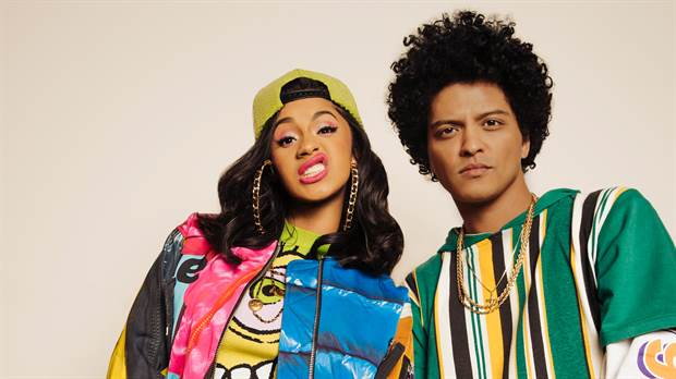 El video noventero de Bruno Mars y Cardi B.