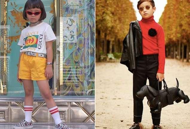 Los niños que son iconos de estilo en Instagram