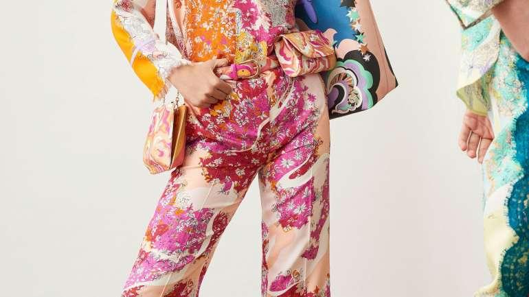 Psicodelia pura: La colección de Pucci que homenajea a Edie Sedgwick