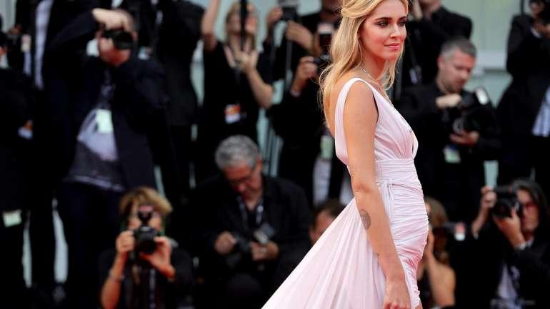 El estilo de Chiara Ferragni embarazada