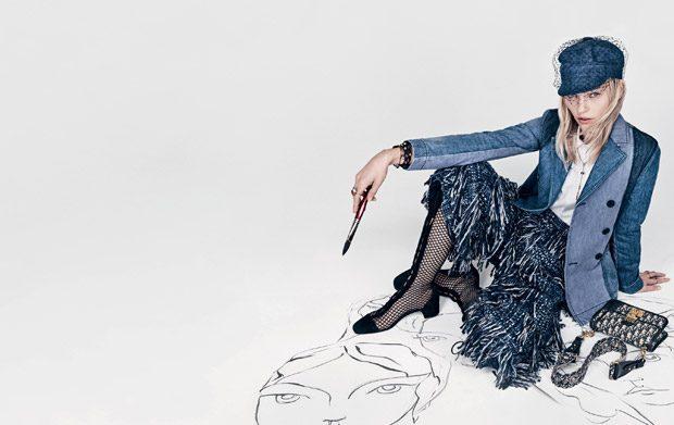 La nueva campaña de Dior protagonizada por Sasha Pivovarova