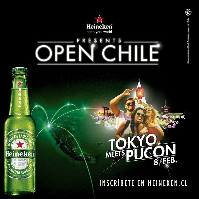 Los detalles del esperado regreso de Open Chile en Pucón junto a Heineken