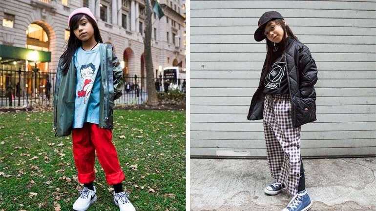 @DearGiana, la artista e icono de estilo de 8 años