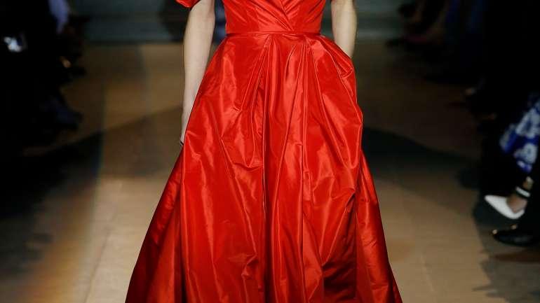 El adiós de Carolina Herrera en New York Fashion Week