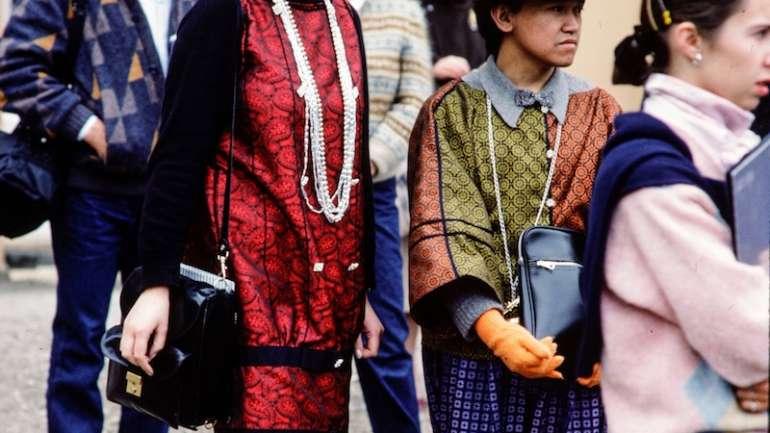 El street style de los '80 según Paul van Riel