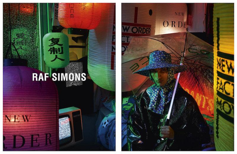 Raf Simons S/S 2018: Blade Runner, chinoiserie y New Order