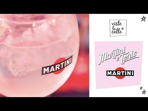 Te enseñamos a preparar un martini & tonic junto a Martini