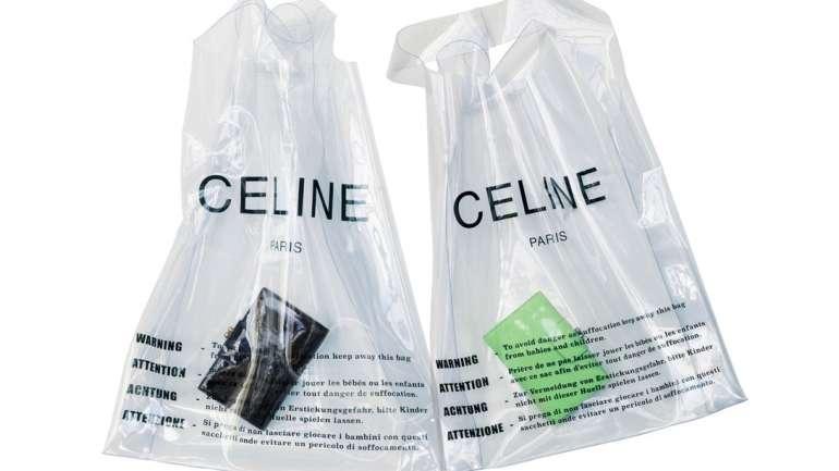 Te mostramos los cinco bolsos de plástico de diseñador más caros en el mercado