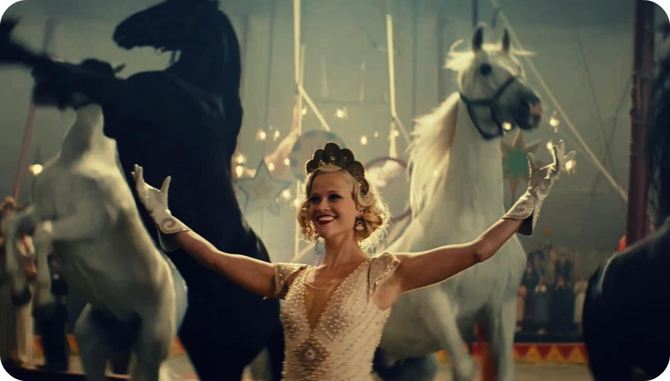 """Flashback: El estilo de Reese Witherspoon en """"Agua para elefantes"""""""