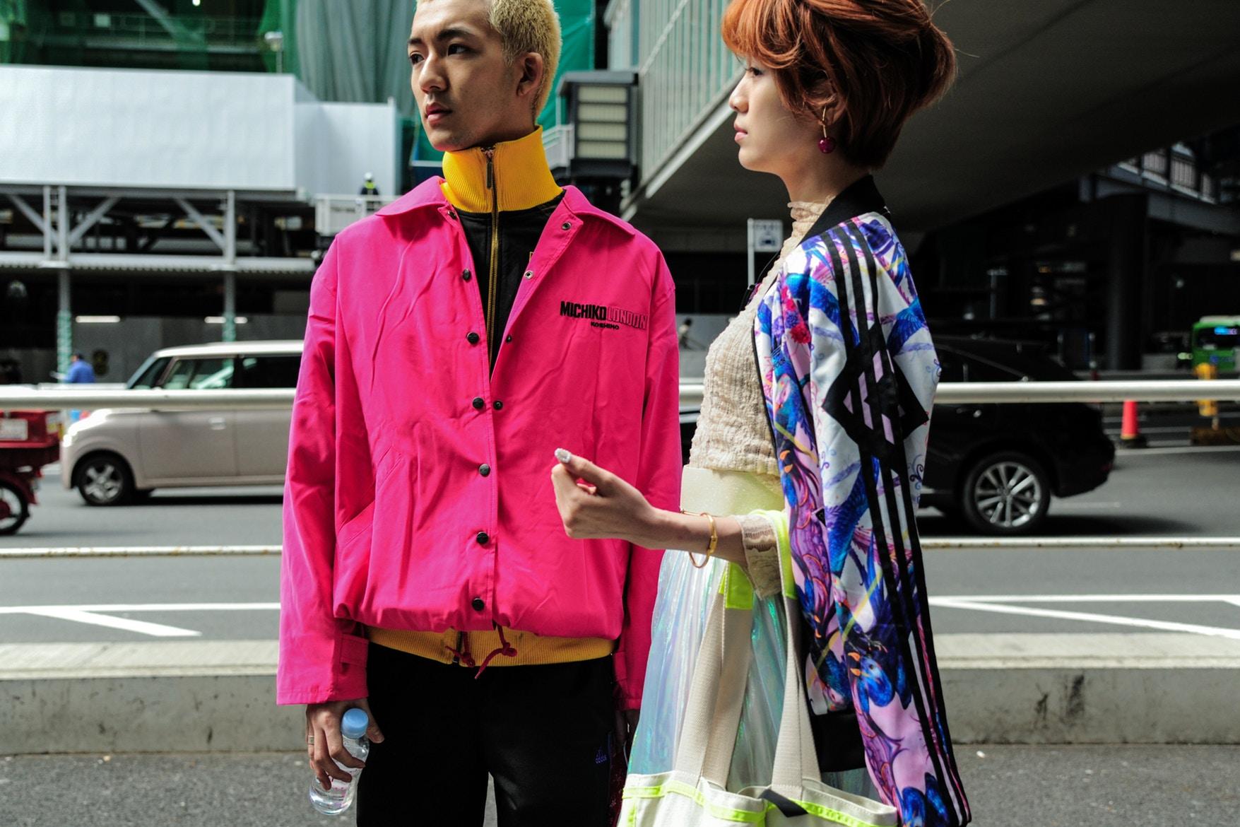 Lo mejor del street style de #TokyoFashionWeek