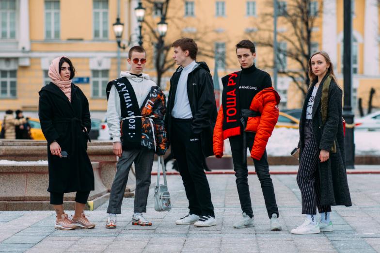 Lo mejor del street style de #RussiaFashionWeek