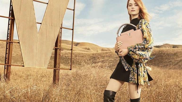 El debut de Emma Stone como rostro de Louis Vuitton