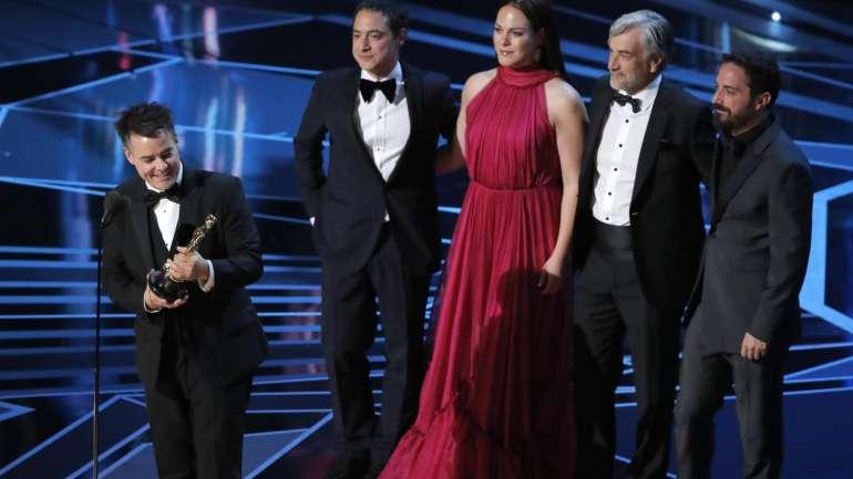 Los trajes de los #Oscars2018