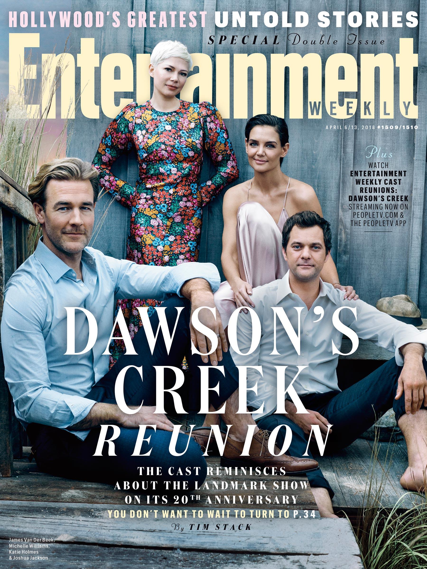 La reunión del elenco de Dawson's Creek en su aniversario número 20