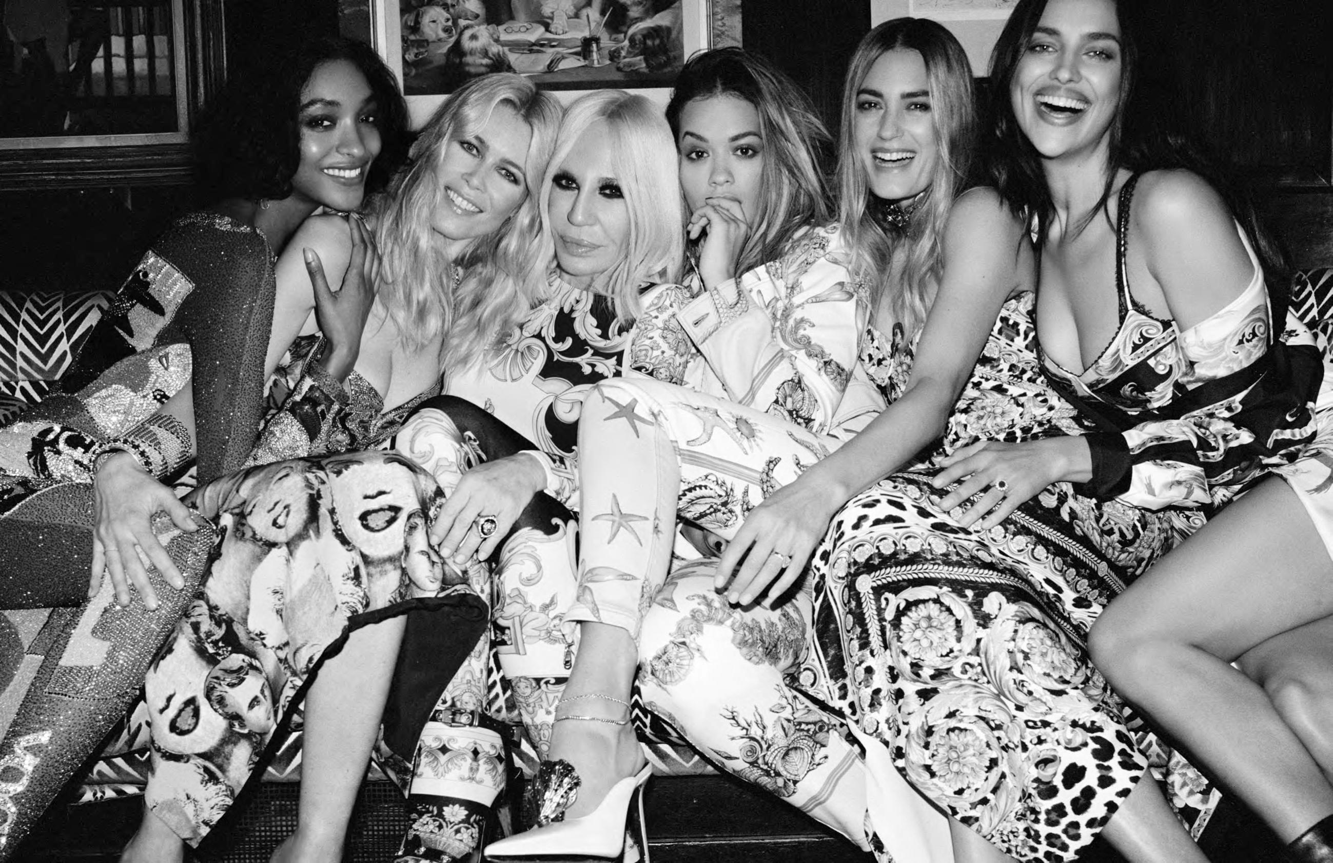 Una noche en la ciudad con Donatella Versace