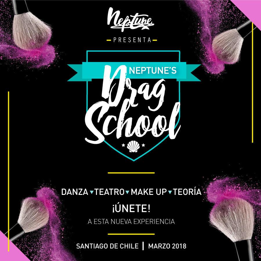 Se viene Neptune's Drag School, la escuela chilena para aprender todo sobre el mundo drag