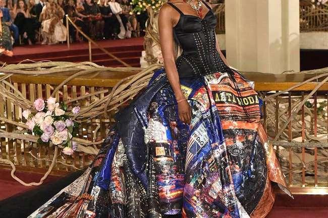 """Dolce & Gabbana presentó su colección """"Alta Moda"""" en la ciudad de Nueva York"""