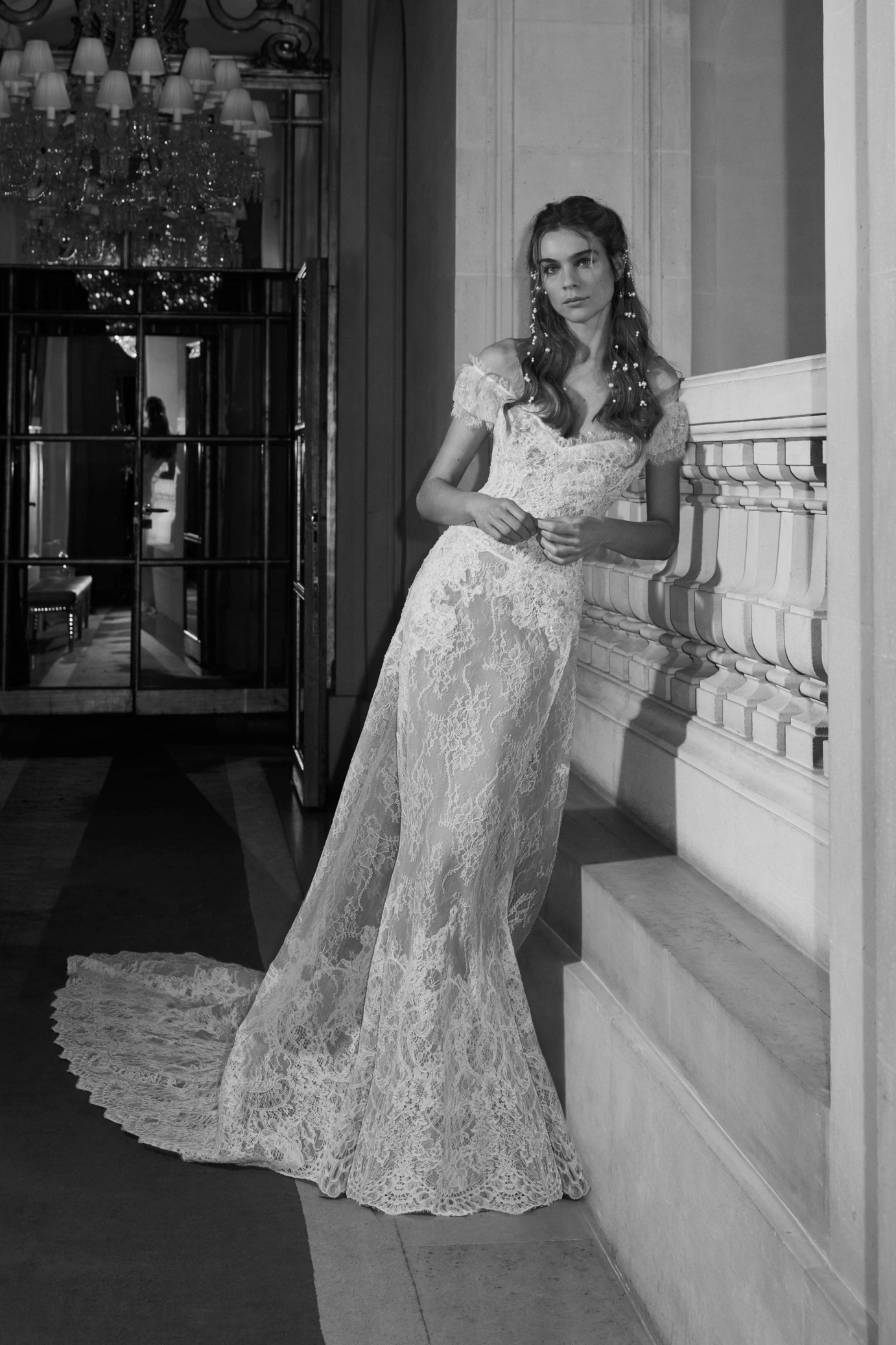 El lookbook de la colección Elie Saab Bridal Spring 2019