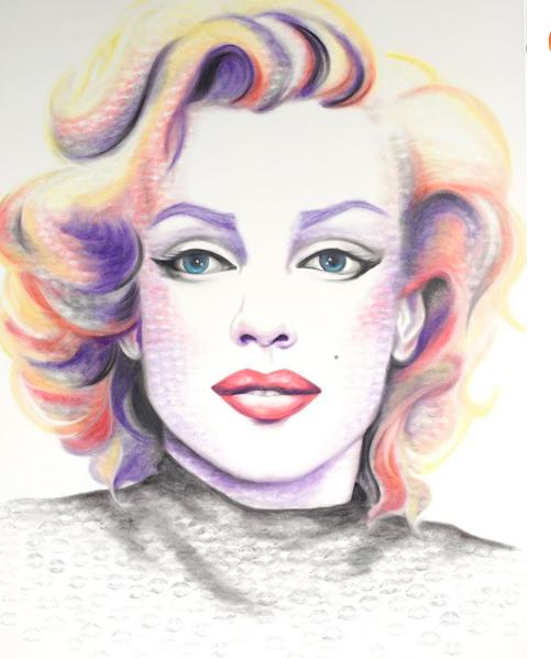 @Lipstick_lex, la artista que crea pinturas con sus labios