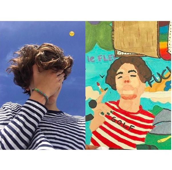 @chalametart, la cuenta de Instagram que rinde homenaje al actor Timothée Chalamet a través del arte