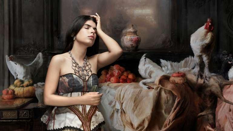 Moda y Música: Esperanza Restucci se viste de Lupe Gajardo para su Gala Barroca