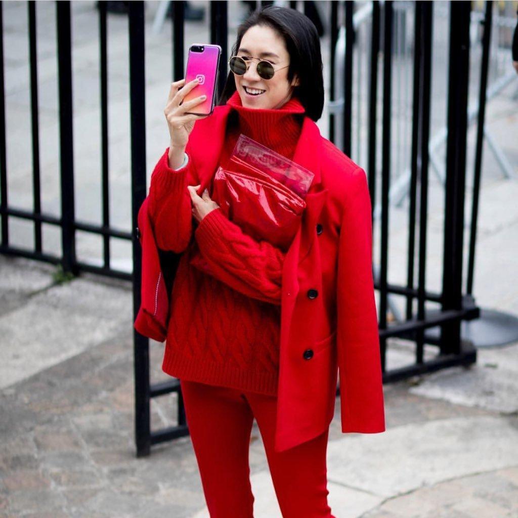 Eva Chen y su cuenta de Instagram: Moda, cercanía y humor