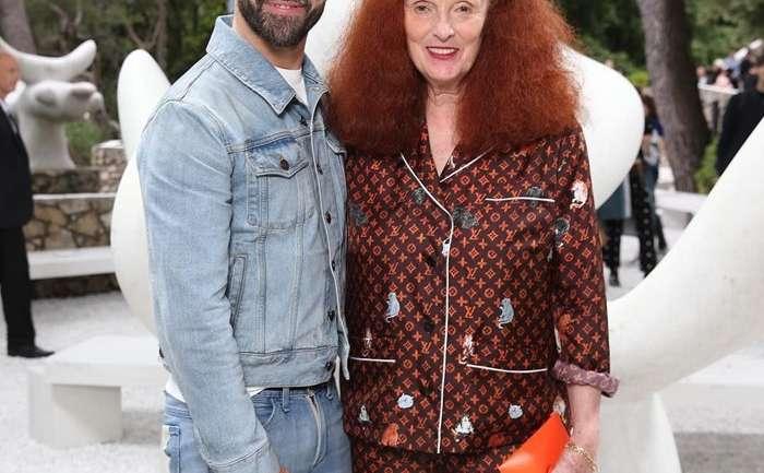 Grace Coddington, la reina de Louis Vuitton (con homenaje y colaboración)