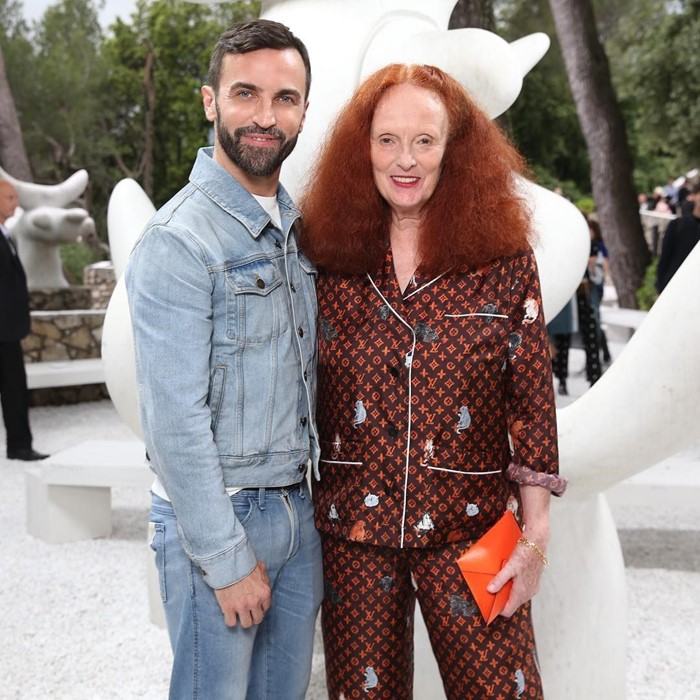 Grace Coddington, la reina de Louis Vuitton (con homenaje y colaboración)