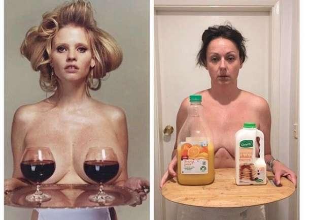 Cómo la humorista @celestebarber se ríe de la moda y la perfección en Instagram