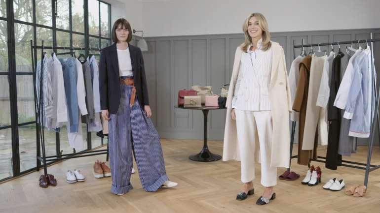 Cómo llevar prendas oversized según Net-a-Porter