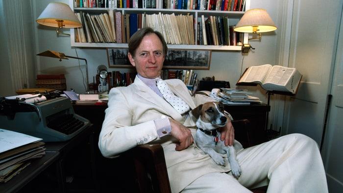 """El escritor Tom Wolfe, """"neo pretencioso"""" hasta el final"""